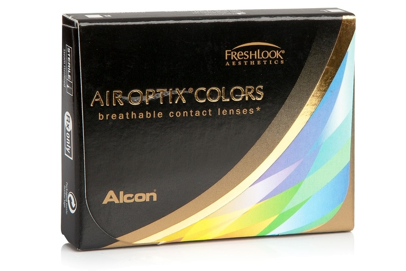 lentilles de couleur Air Optix Colors