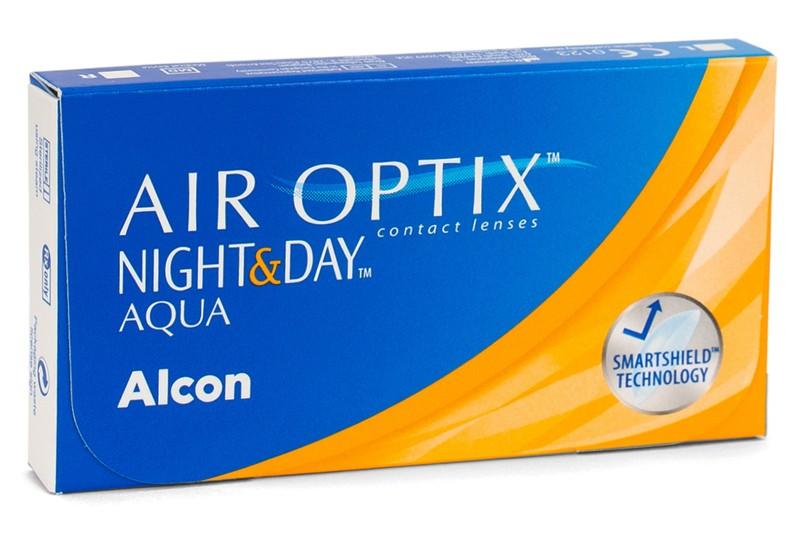 Air Optix Night & Day Aqua (6 čoček) Air Optix Kontinuální čočky silikon-hydrogelové sférické