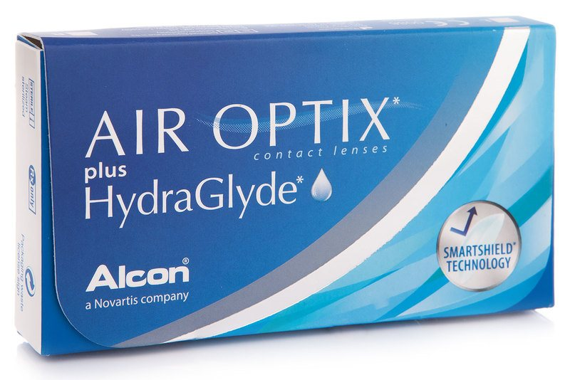 Air Optix Plus Hydraglyde (3 linser)