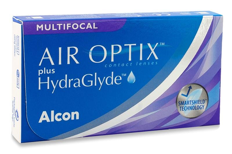 Image of Air Optix Plus Hydraglyde Multifocal (3 linser)