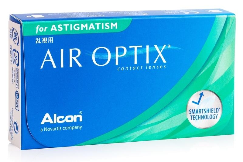 Air Optix for Astigmatism (3 čočky) Air Optix Měsíční čočky torické silikon-hydrogelové