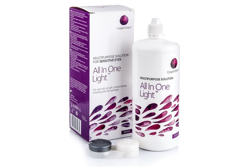 All In One Light 360 ml cu suport de la CooperVision