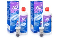 AOSEPT PLUS 2 x 360 ml cu suporturi