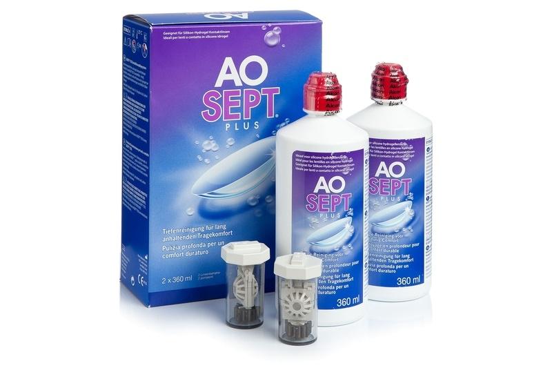 Aosept Plus 2 x 360 ml s pouzdry Aosept