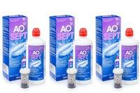 AOSEPT PLUS 3 x 360 ml cu suporturi