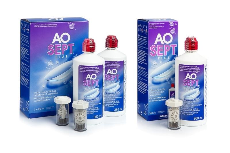 Aosept Plus 3 x 360 ml s pouzdry Aosept