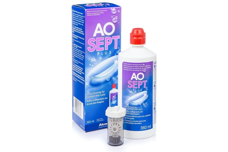 AOSEPT PLUS 360 ml cu suport de la Alcon