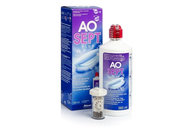 Aosept Plus 360 ml s pouzdrem Aosept