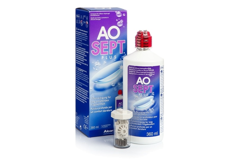 AOSEPT PLUS 360 ml cu suport – OFERTA de la Alcon