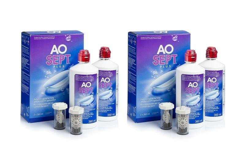 Aosept Plus 4 x 360 ml s pouzdry Aosept