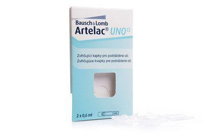 Oční kapky Artelac UNO 2x0,6 ml