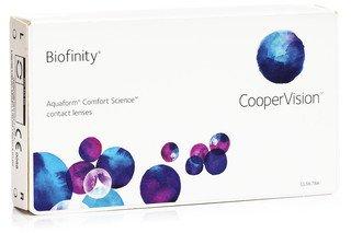 Biofinity CooperVision (3 šošovky)