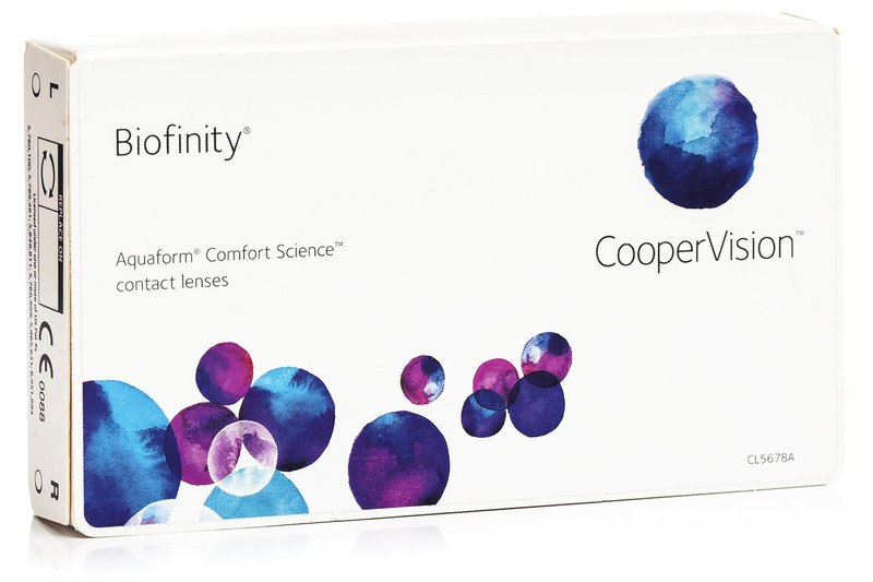 Biofinity CooperVision (3 linser)