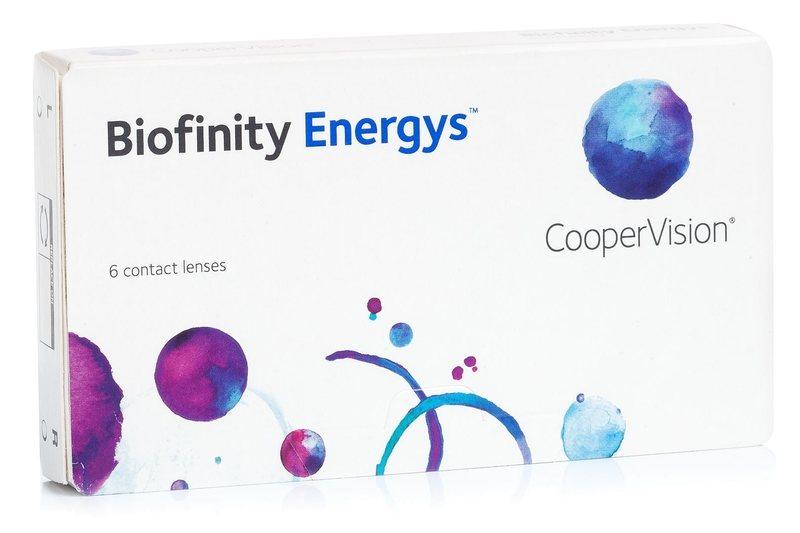 Image of   Biofinity Energys (6 linser)