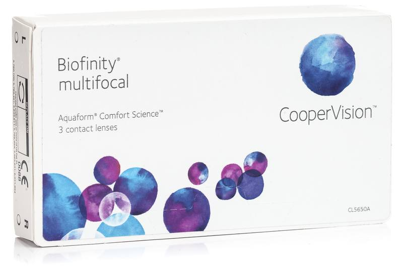 Biofinity Multifocal CooperVision (3 linser)