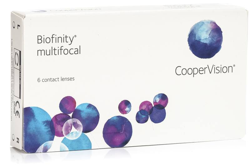 Biofinity Multifocal CooperVision (6 linser)