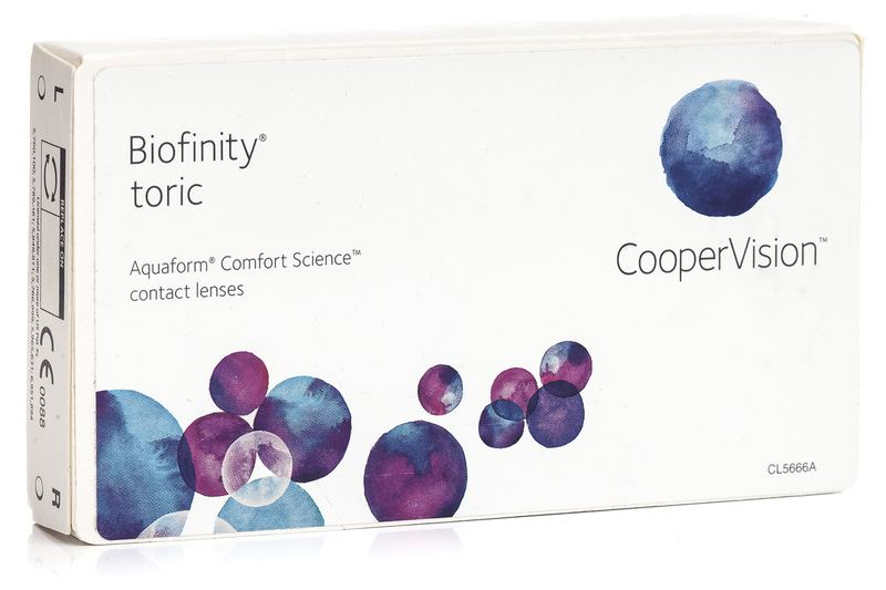 Biofinity Toric CooperVision (6 linser)