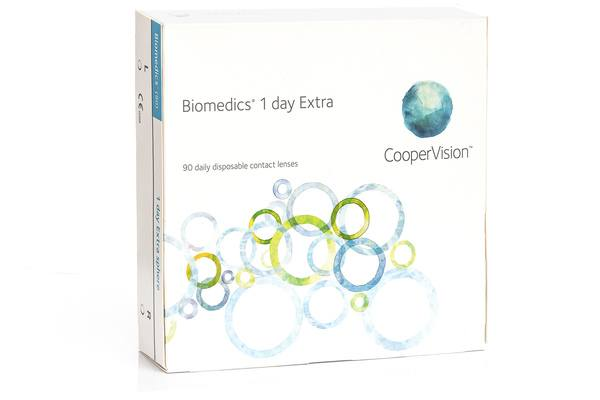 Biomedics 1 Day Extra CooperVision (90 lentile)