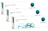 Biomedics 1 Day Extra Toric CooperVision (90 lentile)