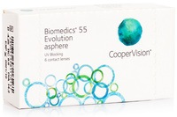 Biomedics 55 Evolution CooperVision (6 lentile) imagine produs 2021 lentiamo.ro