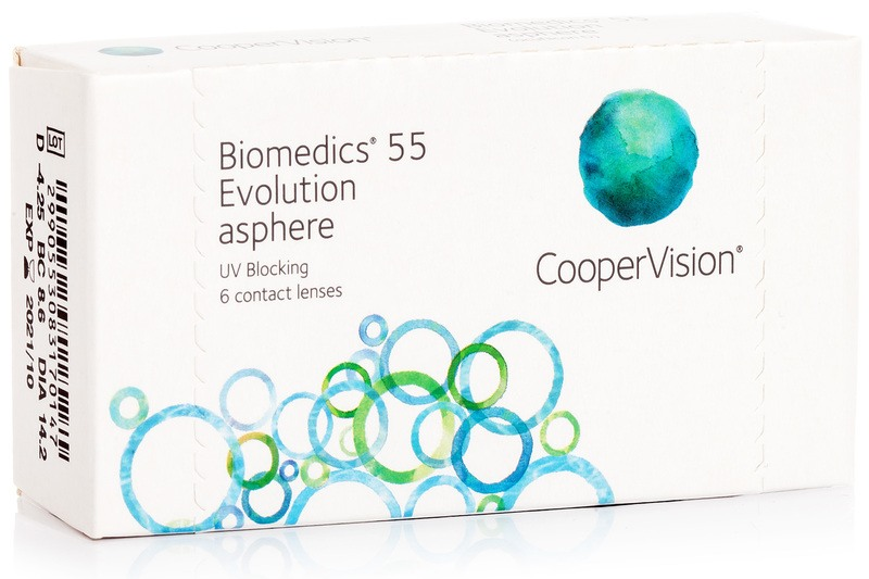 Image of   Biomedics 55 Evolution CooperVision (6 linser)