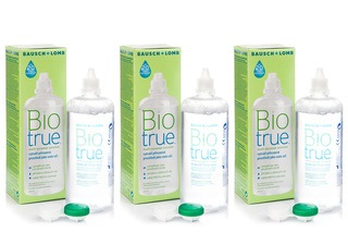 Biotrue Multi-Purpose 3 × 360 ml met lenzendoosjes