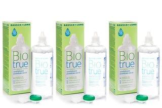 Biotrue Multi-Purpose 3 × 360 ml with cases
