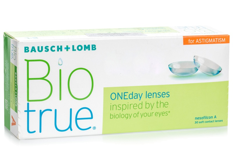 Image of   Biotrue ONEday for Astigmatism (30 linser)