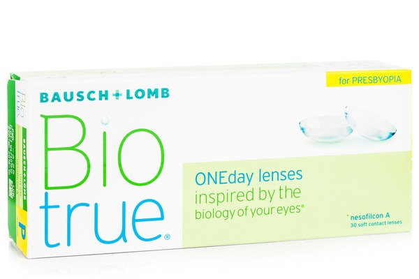 Biotrue ONEday –  for Presbyopia (30 lentile)