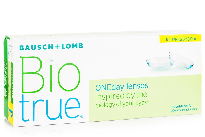 Image of   Biotrue ONEday - for Presbyopia (30 linser)
