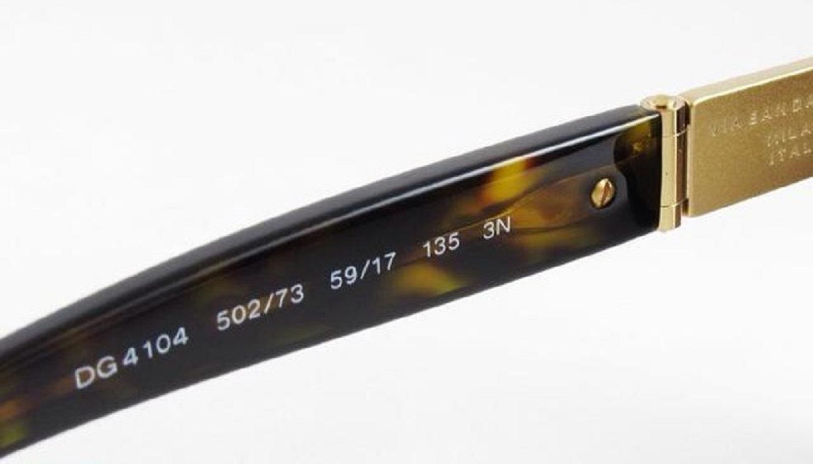 Dolce & Gabbana occhiali da sole: riconoscere gli originali dai falsi - Controllate il codice identificativo