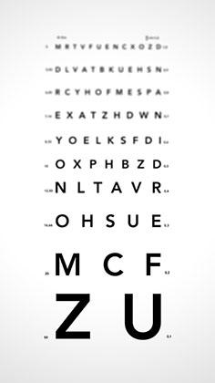 Test de vedere expres)