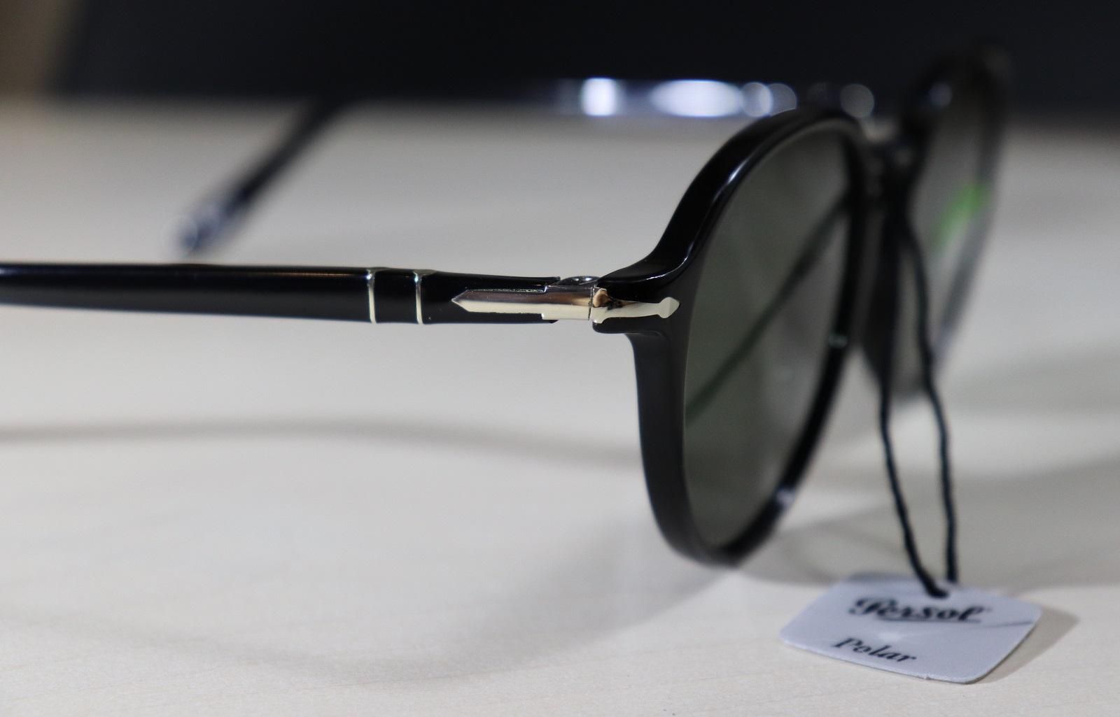 Spot fake Persol sunglasses - check the metal arrow