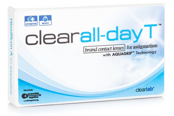 Clear All-Day Toric (6 lentile)