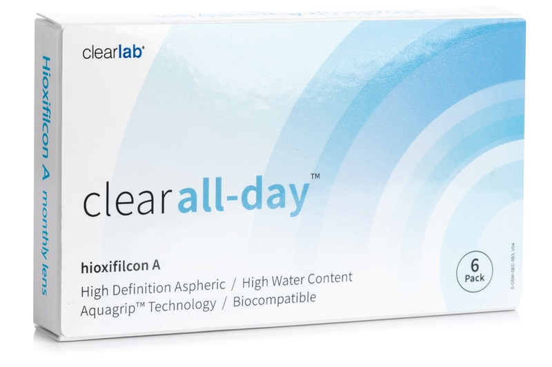 Image of   Clear All-Day (6 linser)