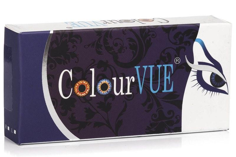 ColourVUE Crazy Lens (2 čočky) - dioptrické ColourVUE Čtvrtletní čočky barevné sférické