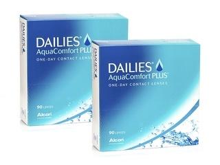 DAILIES AquaComfort Plus 180 lentillas