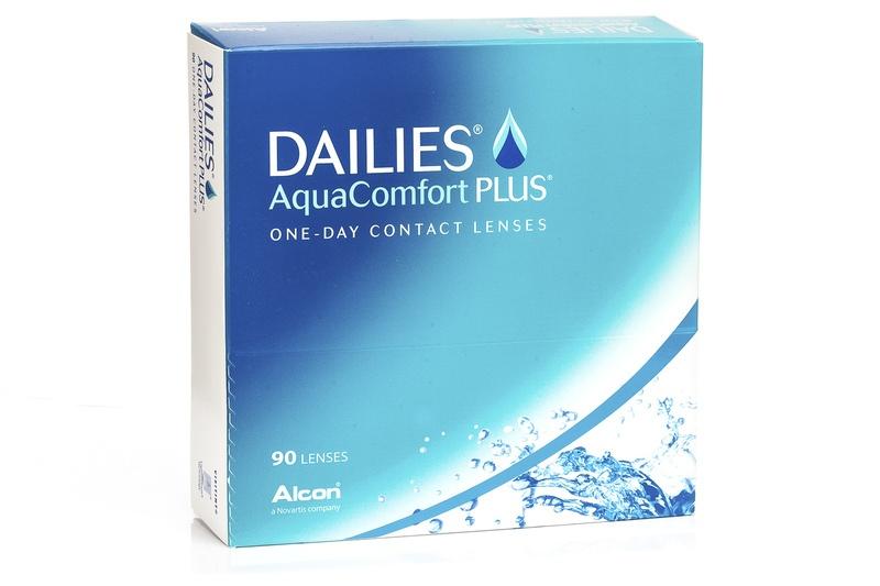 DAILIES AquaComfort Plus (90 lentile de unică folosință) de la Alcon