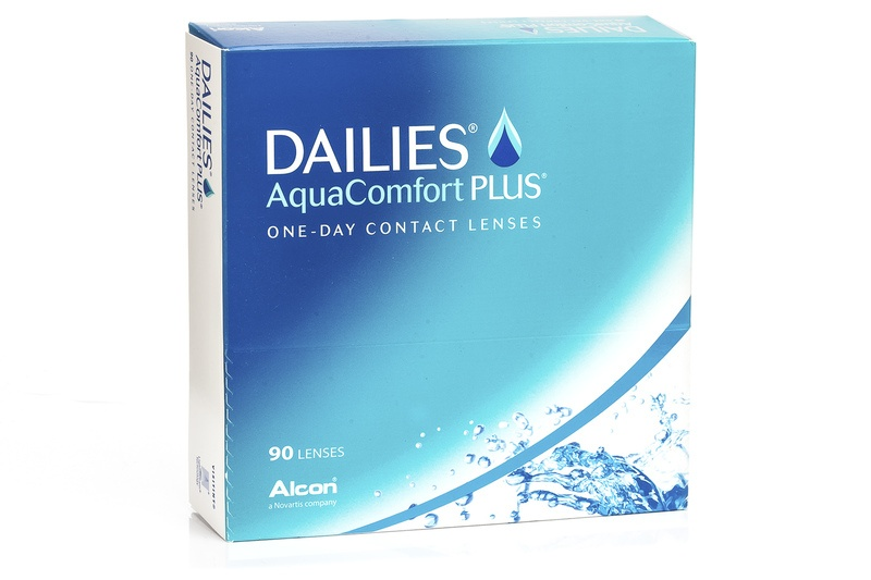Dailies AquaComfort Plus (90 šošoviek) Dailies Jednodenné sférické Športové