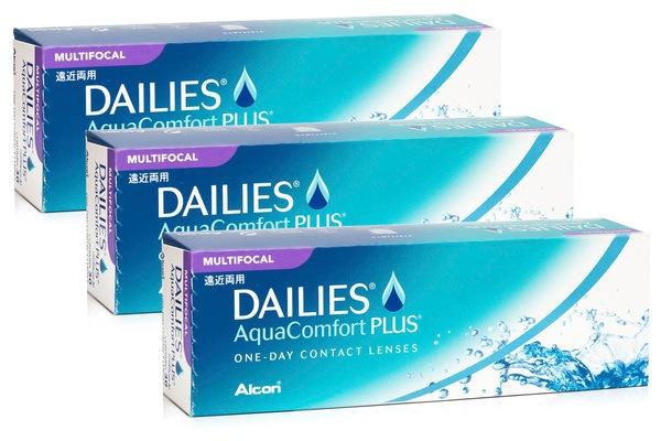 DAILIES AquaComfort Plus Multifocal (90 lentile)