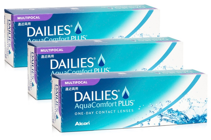DAILIES AquaComfort Plus Multifocal (90 lentile) de la Alcon