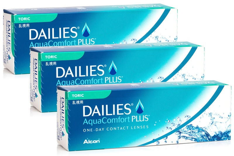 DAILIES AquaComfort Plus Toric (90 linser)