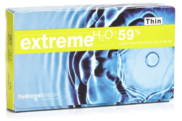 Extreme H2O 59 % Thin (6 lentile)