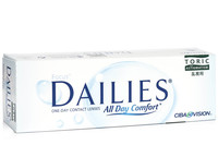 Focus Dailies All Day Comfort Toric, 30er Pack