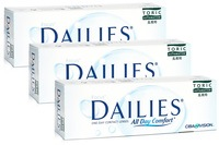Focus Dailies All Day Comfort Toric, 90er Pack
