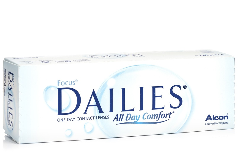 Focus DAILIES All Day Comfort (30 lentile) de la Alcon