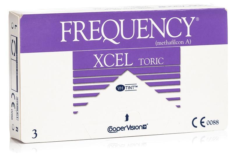 da0e928b4c2d1 Frequency Xcel Toric CooperVision (3 lentillas). Producto disponible  también en este formato