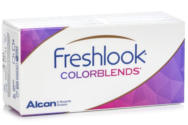 Dioptrické FreshLook ColorBlends (2 ks) farebné kontaktné šošovky 0840b8f0c96