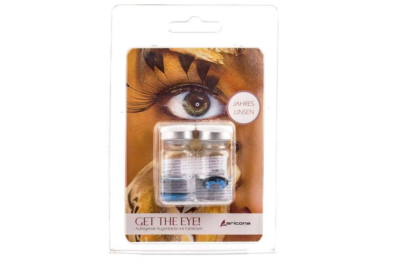Fun kontaktní čočky (2 čočky) - nedioptrické Ostatní kontaktní čočky Roční čočky barevné sférické