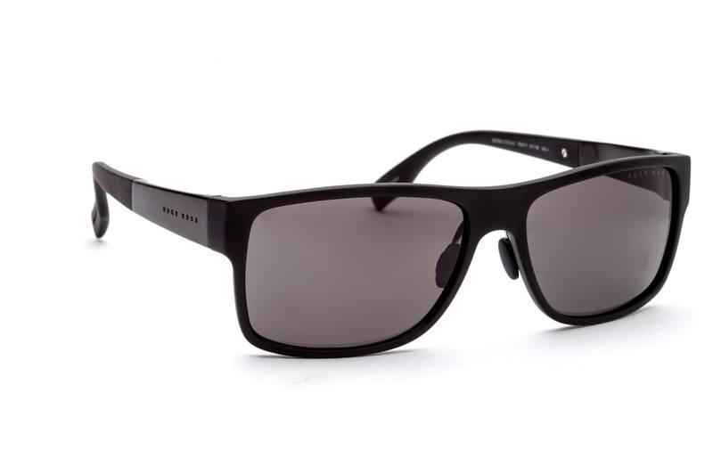 Boss Herren Sonnenbrille » BOSS 0440/S«, schwarz, 793/Y1 - schwarz/grau